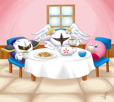 Tea party! by Primrose-Rachel