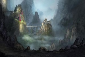 Chinese Fantasy Fortress by jjpeabody