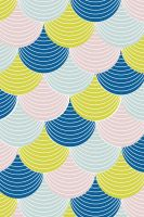 Scalloped Wallpaper iPhone by cocorie