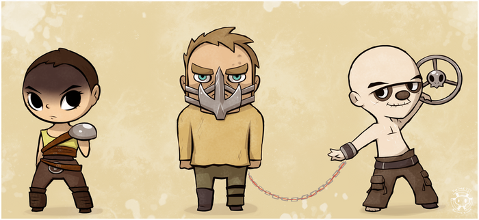 Little Mad Max and Friends by Twime777