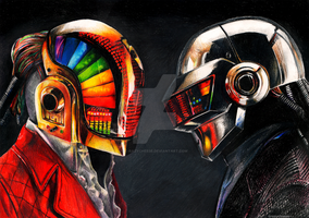 daft Punk by c-razycheese