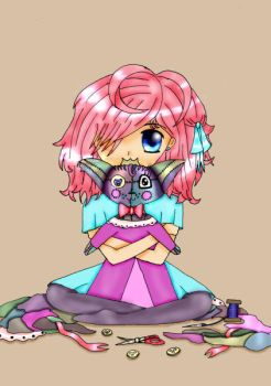 My own doll by Wophie