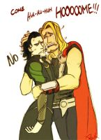 Thor just misses you a lot. by Beckx