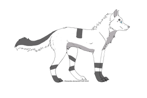 Free Wolf Adoptable: CLOSED by Blossomdash