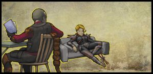 Fallout NV: Downtime by MarsVII