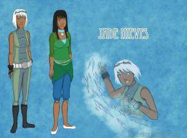 Jade Young Justice Style by Estell-chan