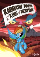 Rainbow Dash and the Ring of Destiny by mysticalpha