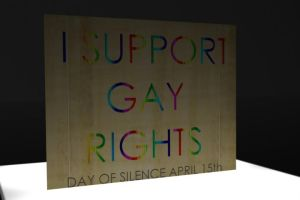 I Support Gay Rights by pacifierboy