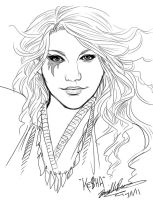 Ke$ha -sketch- by daniellesylvan
