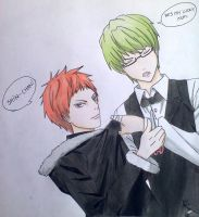 Akashi e Midorima. by ADFlowright