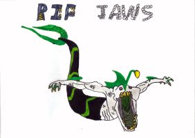 Ben 10: Rip Jaws (7) by DeverexDrawer