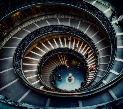 Bramante Staircase by ameliamarina