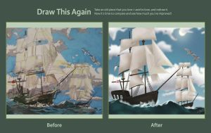 Draw This Again: Tall Ships by dont-question