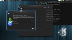 KDE Plasma 4.12 by white-dawn