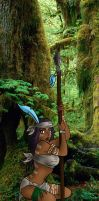 Kuwa Tribe - Huntress by buck3