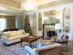 Christmas Living Room by ShipperTrish
