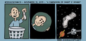 30 Days Comic Challenge Day 19 A Dimension by JesseAcosta