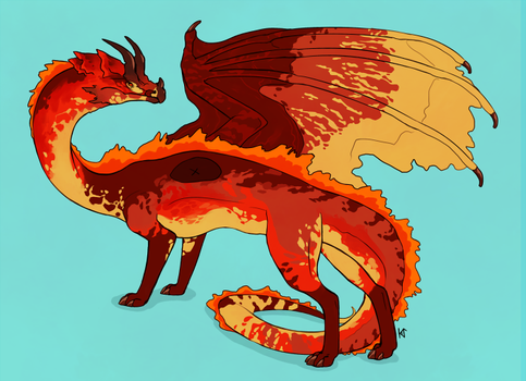 Dragolith - A Paypal Adopt - SOLD by Susiron