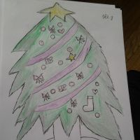 Christmas tree. by alisonporter1994