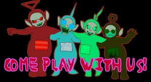 Come Play With Us by Invader-Zero