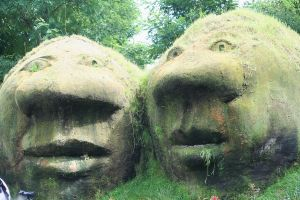 stoneheads in floriade by ingeline-art