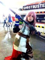 Force of the ligth - final fantasy XIII by Die-Rose