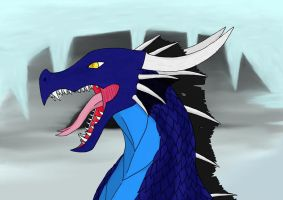 Gundalf Ice dragon Old Version by Kuro-Hiryuu
