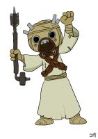 T is for Tusken Raider by striffle