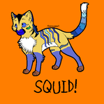 Design Me Pets Competition- SQUID by BlackWolf1112-ADOPTS