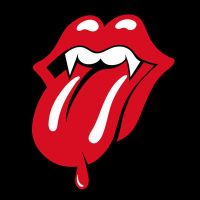 rolling stones vampire lips by Satansgoalie