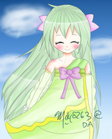 My new oc, Hanako by miki8263