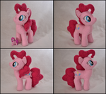 Pinkie Pie Plushie by GhostOfWar909