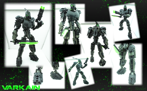Varkain, Stealth Toa of Earth by Jellytie