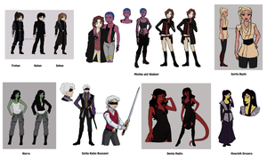 Side Characters by rayn44