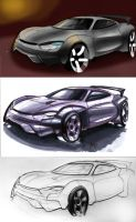 Car renderings by MartinEDesign