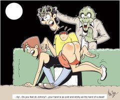 Invasion of the spanking zombies by Nik-Zula