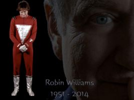Robin Williams by Brandtk