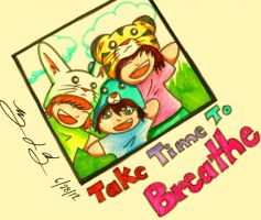 Take Time to Breathe by Alrine21XE