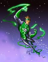 Gutz Green Lantern coloured by heemaz
