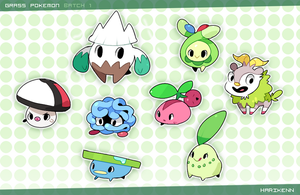 Pokemini : Batch 1 by harikenn