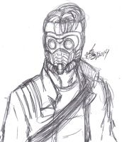 Star-Lord Sketch by ConstantM0tion