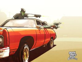 GTA San Andreas by Candyshop