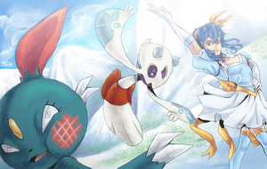 PR- Catching Sneasel by TaigaKun