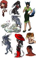 This is Halloween - Art Dump by ary