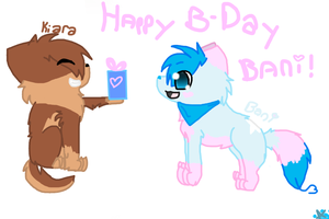 Happy B-day Bani :D by KatWolfKid