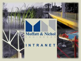 Moffatt and Nichol Intranet by caioneach