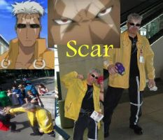 SCAR cosplay by Cosplayer-fangirl