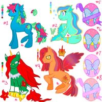 Pony adoption sheet. -Sold out, see description- by Aquatic-Angel
