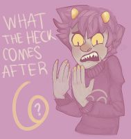 i'm karkat and i can only count to six by nowand4ever