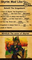 Skyrim Mad Libs by Caerbran by SlayerSyrena